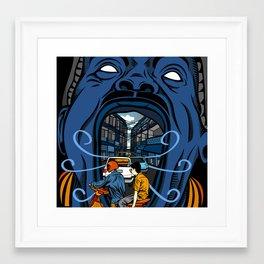 Phnom Penh Framed Art Print