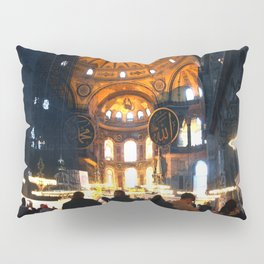 The Apse Of Hagia Sofia Pillow Sham