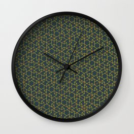 Jali Dark - Alpine Sunrise Wall Clock