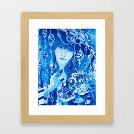 China Girl Framed Art Print