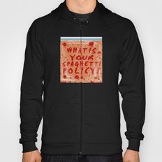 What is your spaghetti policy? -Always Sunny- Fan art Hoody