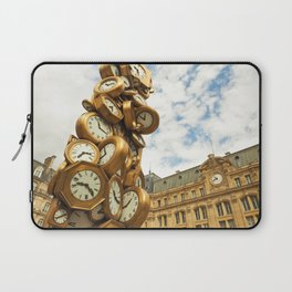 Time for All Laptop Sleeve