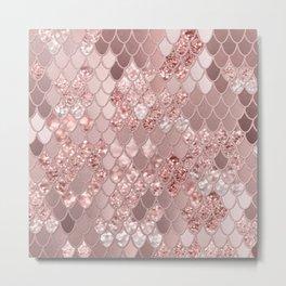 Mermaid Glitter Scales #8 (Faux Glitter) #shiny #decor #art #society6 Metal Print