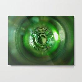 inside out bottle Metal Print