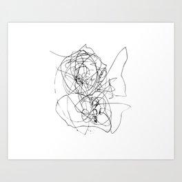 Circles°1 Art Print
