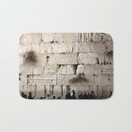 Jerusalem - The Western Wall - Kotel #4 Bath Mat