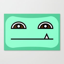 Green Tooth Canvas Print