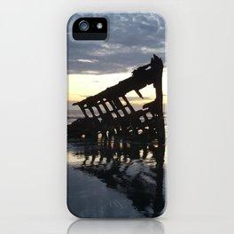 Shipwreck on the Shoreline iPhone Case
