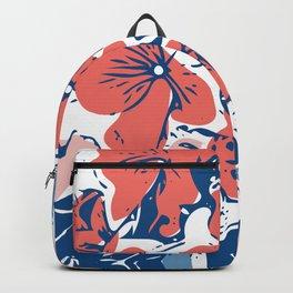Retro Hydrangea Backpack
