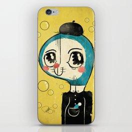Portrait of Doraemon's Creator, Hiroshi Fujimoto iPhone Skin