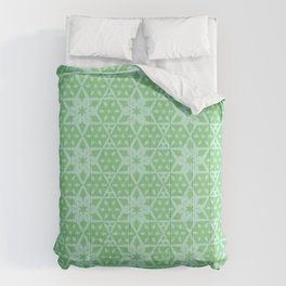 Stars and Hexagons Pattern - Distant Hills Comforters