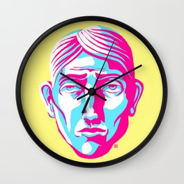 Face Me (The Yellows) Wall Clock