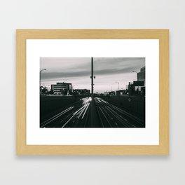 Decarie Lights Framed Art Print