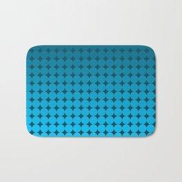 Blue Circles Bath Mat
