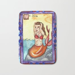 La Sirena Bath Mat