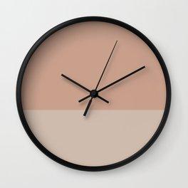 LIGHT SIENNA x MICA II Wall Clock