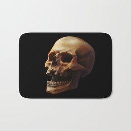 Carpe Diem. Skull Painting Bath Mat