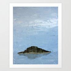 Island in the Mist Art Print