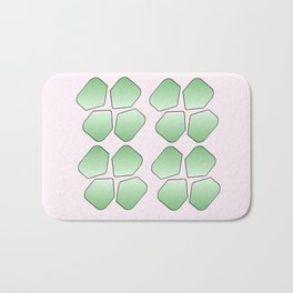 Four Leaf clover 2 Bath Mat