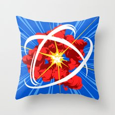 Neutron Throw Pillow