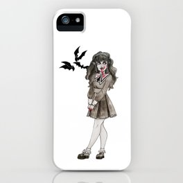Dressed to Kill iPhone Case