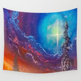 Strange Clouds Wall Tapestry
