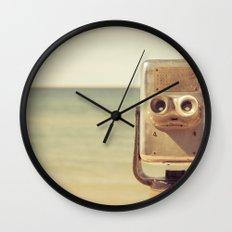 Robot Head Wall Clock