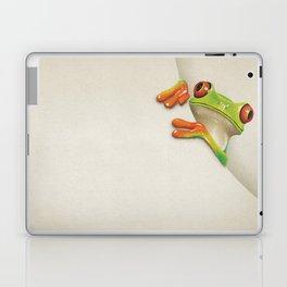 Little Red Eyed Tree Frog Laptop & iPad Skin