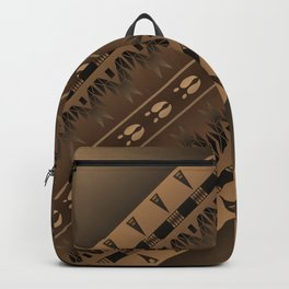 Elk Spirit (Brown) Backpack