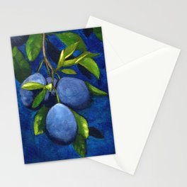 Night garden Stationery Cards