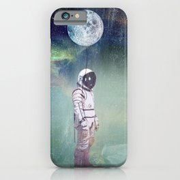 Moon Balloon iPhone Case