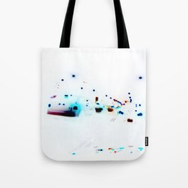 Chicklets Tote Bag