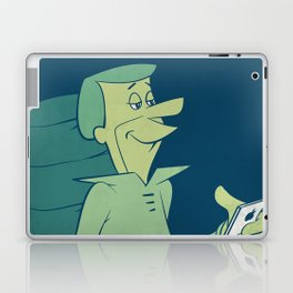 I live in the future - The Jetsons revival Laptop & iPad Skin