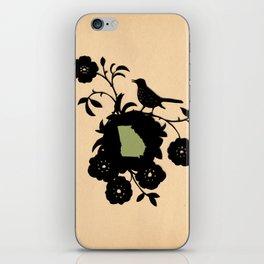 Georgia - State Papercut Print iPhone Skin
