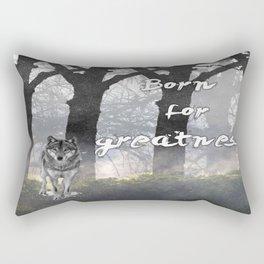 Born for Greatness Rectangular Pillow