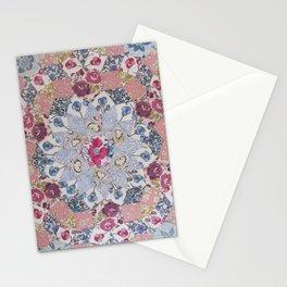 Hand-Sewing Liberty fabrics Stationery Cards