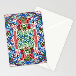 Sea Life 1 Symmetrical design Stationery Cards