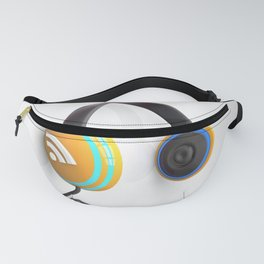 3D wifi headphones Fanny Pack