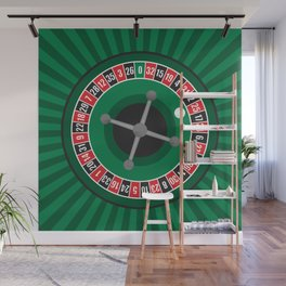 Roulette Wheel Wall Mural