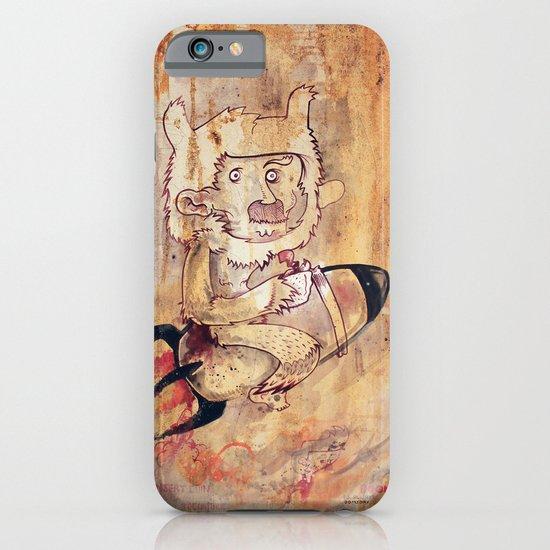 Bunny Rocket iPhone & iPod Case