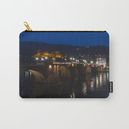 Heidelberg Bridge and Castle by Night Carry-All Pouch