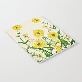 Yellow Wildflowers Notebook