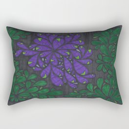 Thorny Bush Rectangular Pillow