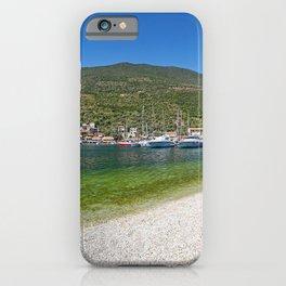 The village Syvota in Lefkada, Greece iPhone Case
