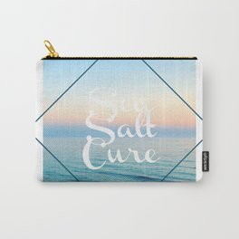 Sea Salt Cure Ocean Print, LA Inspired, NYC Carry-All Pouch