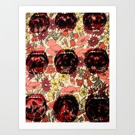 La Bouche - The Mouth MEMO Art Print