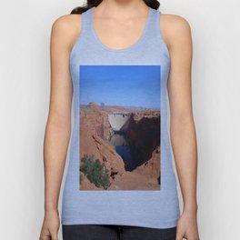 Glen Canyon Dam And Colorado River Unisex Tank Top
