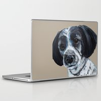 finn Laptop & iPad Skins featuring Finn by Ginny M