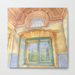 Tomar window Metal Print