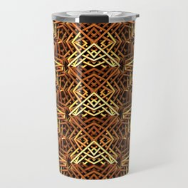 Yes, Another Gold Pattern Travel Mug